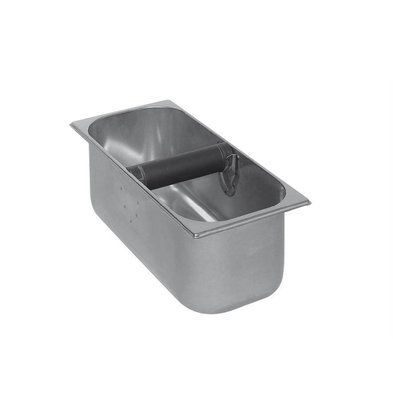Ronda Sudschublade Edelstahl | 5,2 Liter | 360x165x(h)120mm