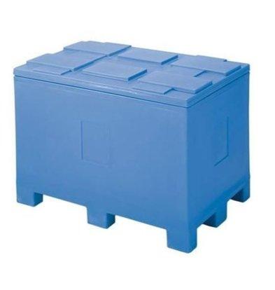 XXLselect Isotherme Container auf Palettenfuß | 450 Liter | 120x80x(h)85cm