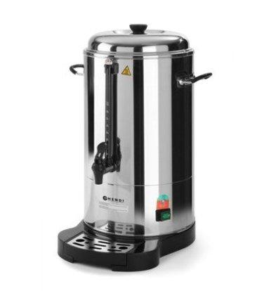 Hendi Perkolator Doppelwandig Edelstahl | 6 Liter | Ø241x(h)480mm | 40 Tassen