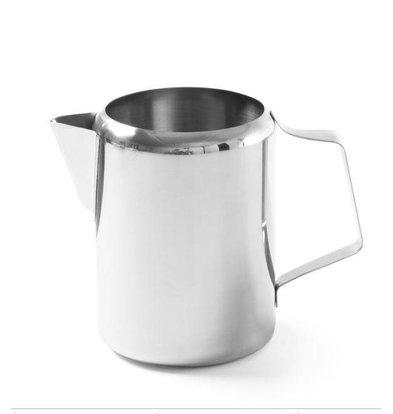 Hendi Milchkanne Edelstahl 0,75 Liter | ø100x120mm