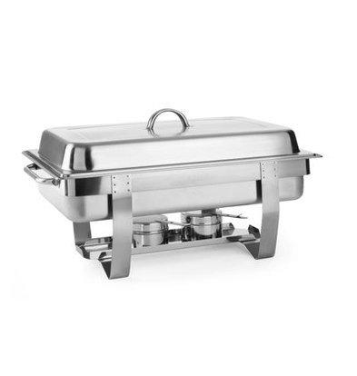 Hendi Chafing Dish GN1/1 | 9 Liter | Tiefe bis zu 100mm | 585x385x(h)315mm