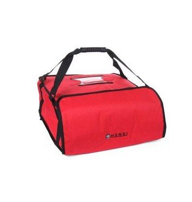 Hendi Pizza-Transporttasche | 450x450 Kartons | Geeignet für 4 Kartons