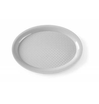 Hendi Serviertablett Oval | 265x195mm | Erhältlich in 2 Farben