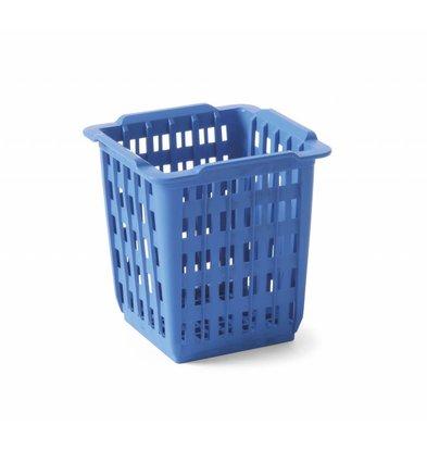 Hendi Besteckbehälter Blau   125x84x(h)135 mm