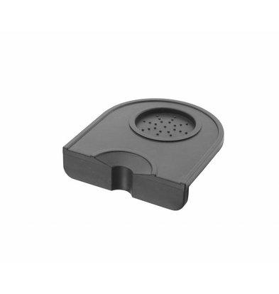 Hendi Silikon Tamper Matt | Ausschnitt für 2 Portafilter | 205x150x(h)45mm