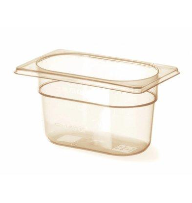 Hendi Gastronorm Behälter 1/6 GN | Temperaturbeständig  -40°C bis 150°C | Erhältlich in 2 Tiefen