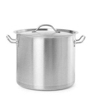 Hendi Koch- Suppentopf mit Deckel | Budget Line | Erhältlich in 6 Größen