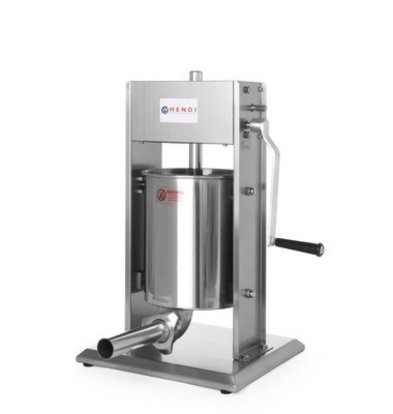 Hendi Wurstfüllmaschine Profi Line | 3 Liter | 300x340x(h)570mm