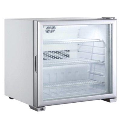 Hendi Aufsatz-Tiefkühlvitrinhtrine | 90 Liter | LED Beleuchtung | 620x575x(h)712mm