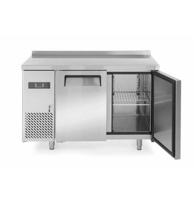 Hendi Kühltisch Kitchen Line   2 Türen   1200x600x(h)850mm