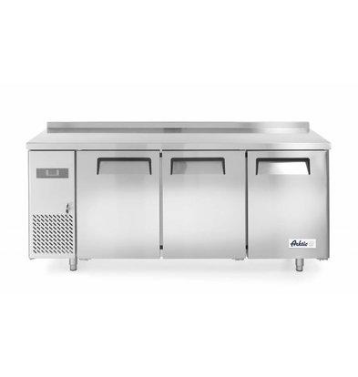 Hendi Kühltisch Kitchen Line | 3 Türen | 1800x600x(h)850mm