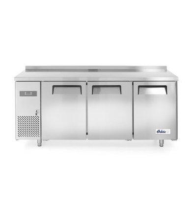 Hendi Tiefkühltisch Kitchen Line   3 Türen   1800x600x(h)850mm