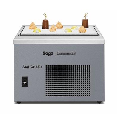 Hendi Tiefkühlplatte | Innerhalb 5-10 Minuten -34 °C | 403x477x(h)343mm