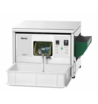 Bartscher Besteckpoliermaschine | Integrierte UV-Lampe | Edelstahl | Erhältlich in 3 Größen