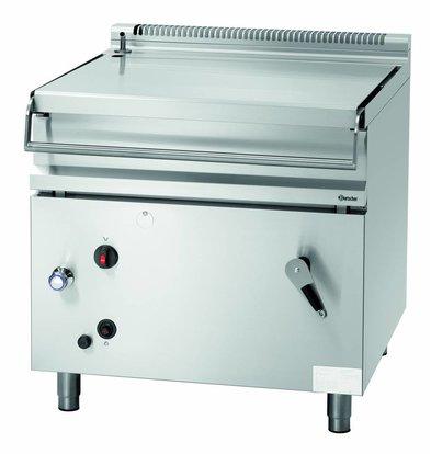 Bartscher Kippbratpfanne Gas | 80 Liter | 100 bis 300 °C | 22 kW | 900x900x(h)900mm