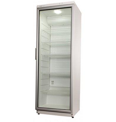 Exquisit Kühlschrank mit Glastür | 320 Liter | 600x600x1730(h)mm