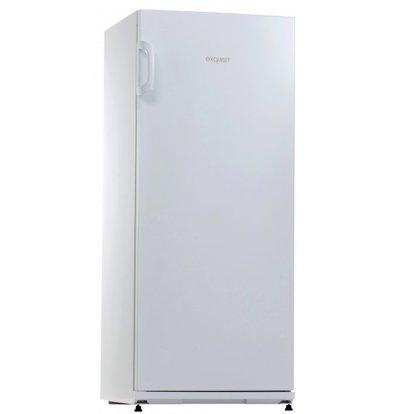 Exquisit Gastro Kühlschrank Weiß | 267 Liter | Inkl. 5 Metallroste | 620x600x1450(h)mm