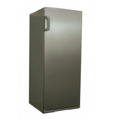 Exquisit Gastro Kühlschrank Edelstahl | 267 Liter | Inkl. 5 Metallroste | 620x600x1450(h)mm