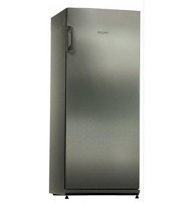 Exquisit Edelstahl Tiefkühlschrank | 196 Liter | 600x620x1450(h)mm