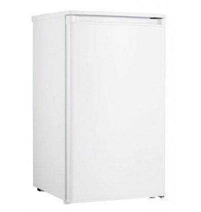 Exquisit Kühlschrank Weiß | 93 Liter | 2 Ablagen + 1 Schublade | 480x450x850(h)mm