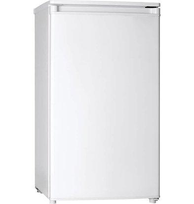 Exquisit Kühlschrank Weiß | 93 Liter | 2 Ablagen + 1 Schublade | 480x520x850(h)mm