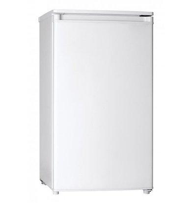 Exquisit Kühlschrank Weiß | 92 Liter | 2 Ablagen + 1 Schublade | 480x500x850(h)mm