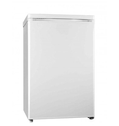Exquisit Kühlschrank Weiß | 130 Liter | 2 Ablagen + 1 Schublade | 550x570x850(h)mm