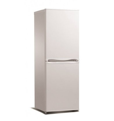 Exquisit Kombi-Kühlschrank Weiß | Kühlen 100L/Frieren 56L | 490x560x1430(h)mm