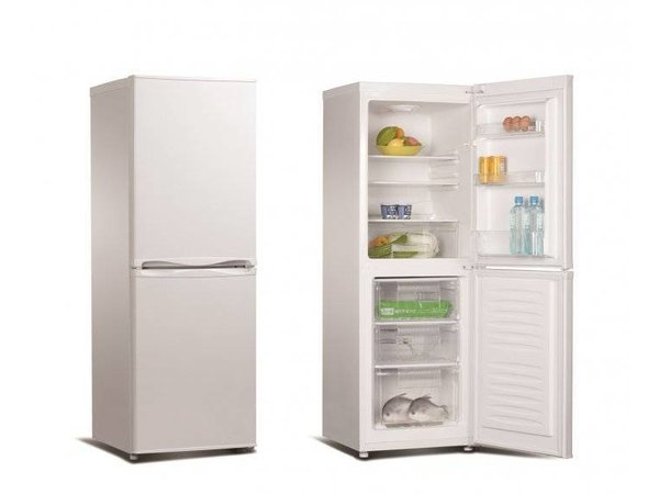 Kühlschrank Kombi : Kombi kühlschrank weiß kühlen l frieren l h mm