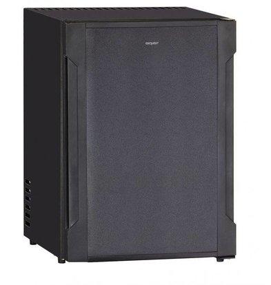 Exquisit Kühlschrank Schwarz | 36 Liter | 440x400x560(h)mm