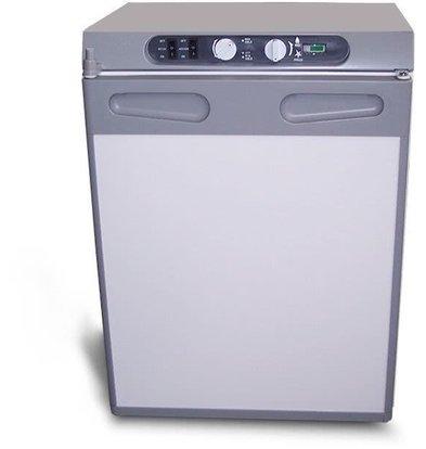 Exquisit Absorber Kühlschrank | 60 Liter | 12V/230V/Butan | 480x480x640(h)mm