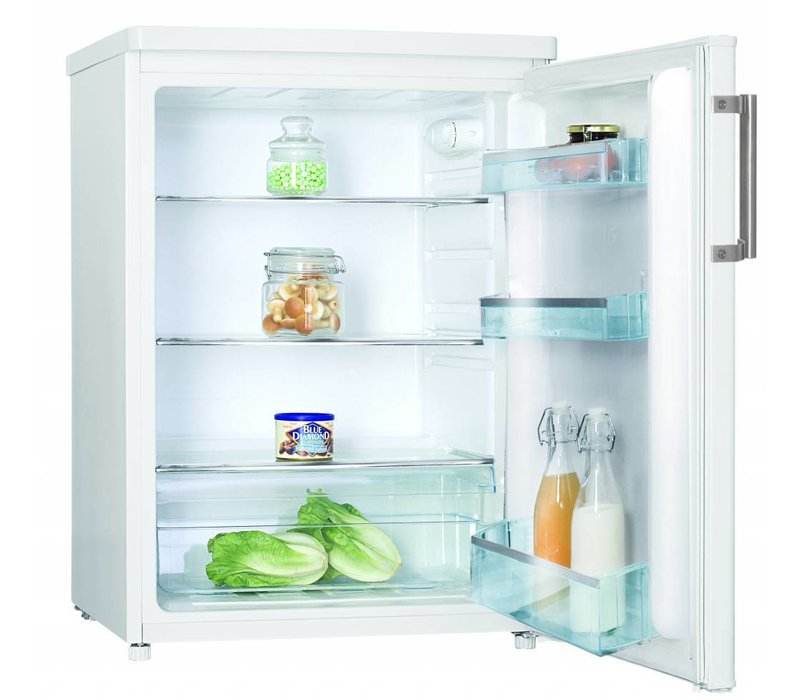 Frilec Kühlschrank Weiß | 147 Liter | 600x600x850(h)mm