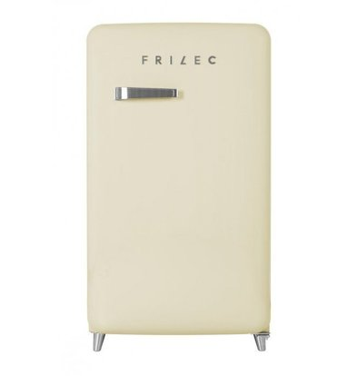 Frilec Kühlschrank Creme | Kühlen 108L/Frieren 13L | 540x620x980(h)mm