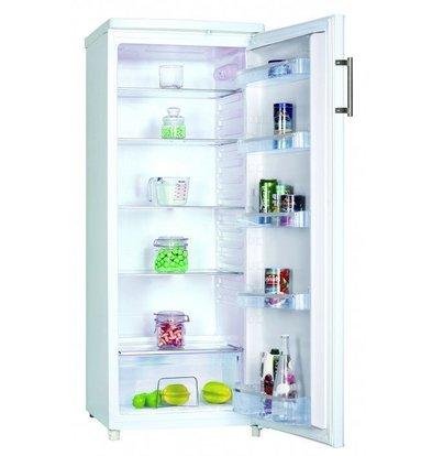 Frilec Kühlschrank Weiß | 240 Liter | 5 Ablagen | 550x580x1430(h)mm