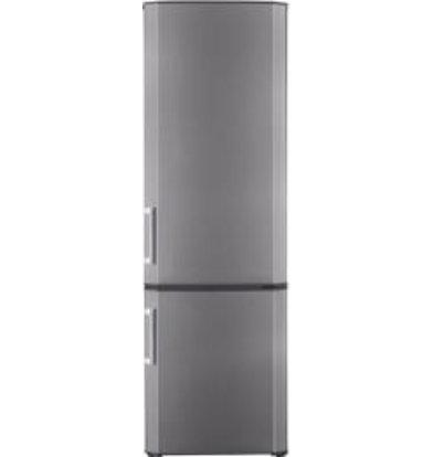 Frilec Kombi-Kühlschrank INOX | Kühlen 135L/Frieren 55L | 550x560x1550(h)mm