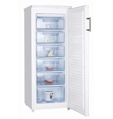 Frilec Gefrierschrank Weiß | 147 Liter | 6 Schubladen | 550x580x1430(h)m