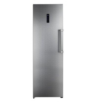 Frilec Gefrierschrank INOX | 260 Liter | 7 Schubladen | 600x660x1860(h)mm