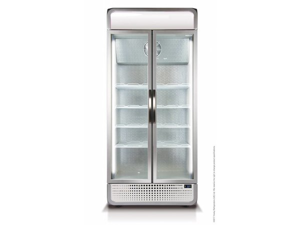 Kühlschrank Beleuchtung : Kühlschrank doppelglastür liter weiß led beleuchtung