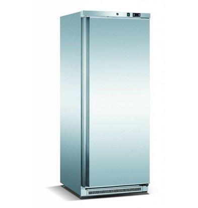 Exquisit Kühlschrank Edelstahl | 600 Liter | 5 Ablagen | Digital | 780x740x1900(h)mm