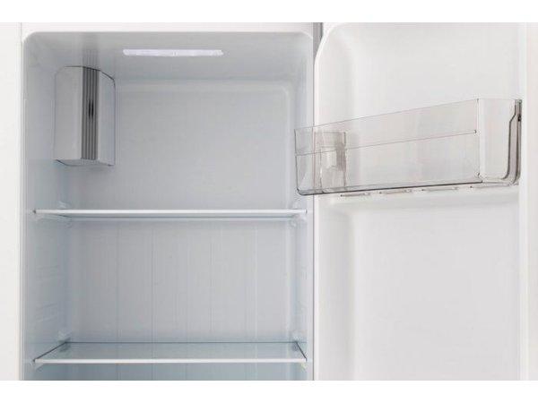 Frilec Amerikanischer  Kühl-Gefrierschrank Edelstahl   291 + 138 Liter   Energieklasse A+   900x590x1770(h)mm
