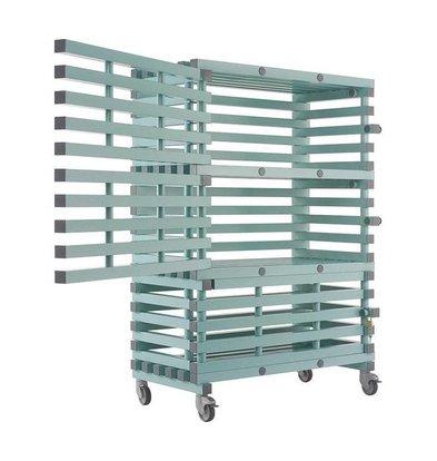 REA REA Materialwagen Abschließbar | 3 Regalböden 1050x466x(h)450mm | 1200x600x(h)1750mm