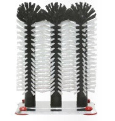 Bar Professional Spülbürste Aluminiumfuß 3-teilig   3x25cm