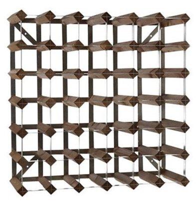 Bar Professional Weinregal 42 Flaschen   61,2 x 22,8 x (h) 61,2 cm   Holz / Metall
