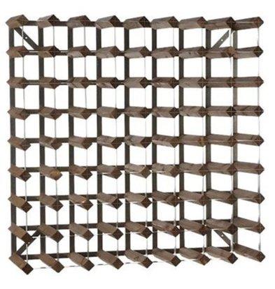Bar Professional Weinregal 72 Flaschen   80,4 x 22,8 x (h) 80,4 cm   Holz / Metall