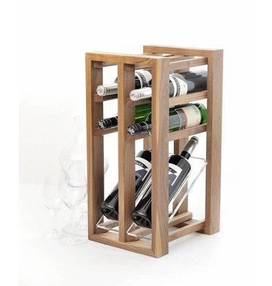 Bar Professional Weinregal-Display | Für sechs Flaschen geeignet