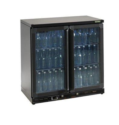 Gamko Flaschenkühlung 2 Klapptüren | Anthrazit | Gamko MG2 / 250G | 250L | 900 x 536 x 900/910 mm