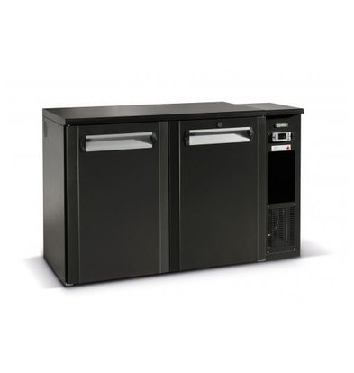 Gamko Fasskühler 2-Türen | Gamko FK2-25 / 8R | Kühlmaschine Rechts LED-Beleuchtung | 1350x567x860 / 880mm