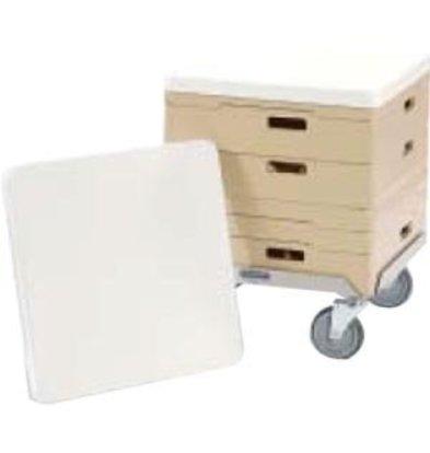 Rhima Deckel für Körbe Rhima | 50x50cm | Weiß