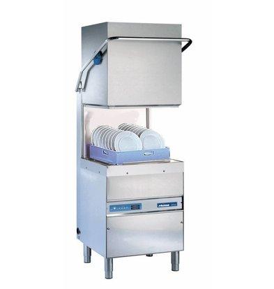 Rhima Geschirrspülmaschine 50x50cm Rhima DR60i PLUS | Inkl. Breaktank und Drucksteigerungspumpe zum Nachspülen | 400 V