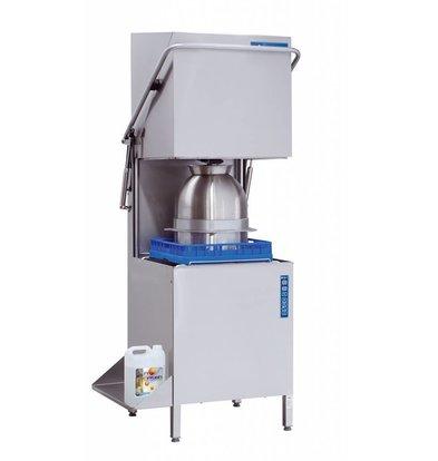 Rhima Geschirrspülmaschine 60x40cm | Rhima WD-7 PLUS GRÜN | Inkl. Breaktank und Drucksteigerungspumpe zum Nachspülen